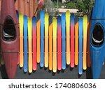 Bright Multi Colored Fence...