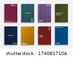 collection of trendy colorful... | Shutterstock .eps vector #1740817106