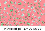 endless seamless pattern of... | Shutterstock .eps vector #1740843383