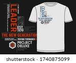 leader the new generation...   Shutterstock .eps vector #1740875099