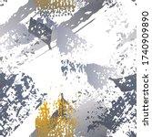 worn texture splatter surface.... | Shutterstock .eps vector #1740909890