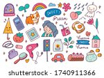 set of hand drawn doodle  can...   Shutterstock .eps vector #1740911366