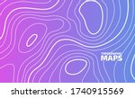 high altitude topographic... | Shutterstock .eps vector #1740915569