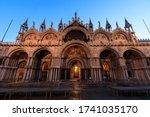 St Mark\'s Basilica At Blue Hou...