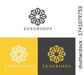 vector logo   luxury design...   Shutterstock .eps vector #1741079753