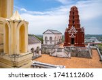 Red Stupa. Architectural Style...