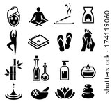 collection of icons... | Shutterstock .eps vector #174119060