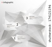 infographics with abstract... | Shutterstock .eps vector #174121196