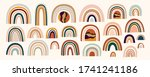 decorative abstract horizontal... | Shutterstock .eps vector #1741241186