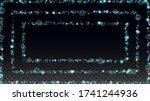 winter vector background with... | Shutterstock .eps vector #1741244936