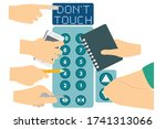 Don\'t Touch Elevetor Button....