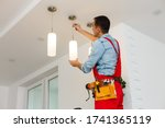 Electrician Man Worker...