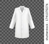 realistic 3d detailed white... | Shutterstock .eps vector #1741370276