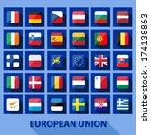 eu icons | Shutterstock .eps vector #174138863