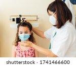 The Pediatric Doctor Measures...