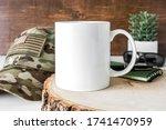 Blank 11oz White Coffee Mug...