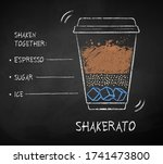 vector chalk drawn sketch of... | Shutterstock .eps vector #1741473800