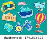 vector design of travel... | Shutterstock .eps vector #1741515326