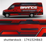 car sticker. development of car ... | Shutterstock .eps vector #1741524863