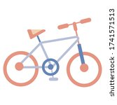 bicycle outline icon  modern...