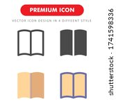 book icon pack isolated on...