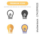 idea icon pack isolated on...