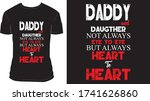 ''daddy and daughter not always ... | Shutterstock .eps vector #1741626860