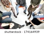 group therapy | Shutterstock . vector #174164939