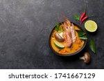 Tom Yum Traditional Thai Soup...