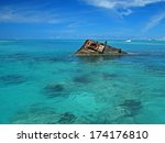 Tropical Shipwreck