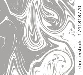 gray marble texture  vector... | Shutterstock .eps vector #1741818770