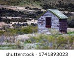 An Old Rustic Shed In New...