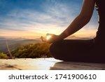 Yoga Woman  Meditation  Yoga...