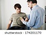 blood pressure  man | Shutterstock . vector #174201170