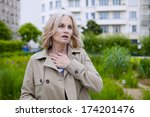 asthma  senior | Shutterstock . vector #174201476