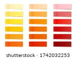 realistic sticky notes... | Shutterstock .eps vector #1742032253