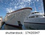 luxurious yacht | Shutterstock . vector #17420347
