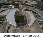 An Aerial View Shows Ataturk...