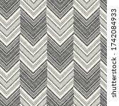 monochrome canvas textured... | Shutterstock .eps vector #1742084933