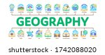 geography education minimal... | Shutterstock .eps vector #1742088020