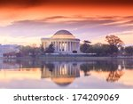 The Jefferson Memorial During...