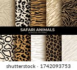 animal fur print seamless...   Shutterstock .eps vector #1742093753