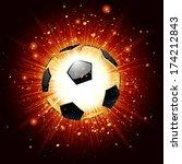 vector illustration of a soccer ...   Shutterstock .eps vector #174212843