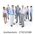 large group of business people | Shutterstock . vector #174213188