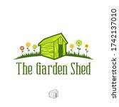 Garden Shed Logo Shed Vector