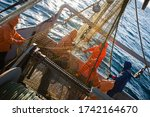 Fishermen Choose A Trawl With...
