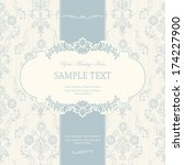 vintage background  antique... | Shutterstock .eps vector #174227900