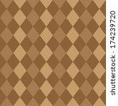 seamless pattern of brown...   Shutterstock . vector #174239720