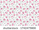 simple cute pattern in small... | Shutterstock .eps vector #1742475800