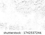 shattered plaster on cement... | Shutterstock .eps vector #1742537246